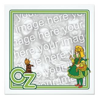 Wizard of Oz, Girl Birthday Party Invitation