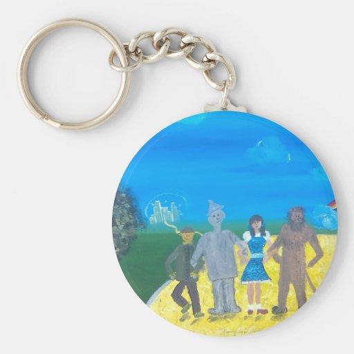 Wizard of Oz Key Chains