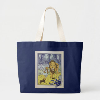 Wizard of Oz Large Tote Bag