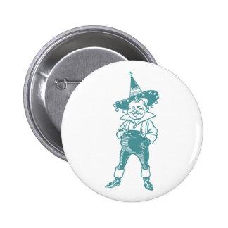 Wizard of Oz Munchkin Pinback Button
