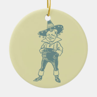 Wizard of Oz Munchkin Christmas Ornament