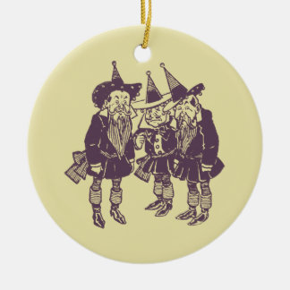 Wizard of Oz Munchkins Christmas Ornament