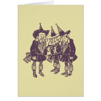 Wizard of Oz Munchkins Greeting Card