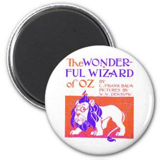 Wizard of Oz Original 6 Cm Round Magnet