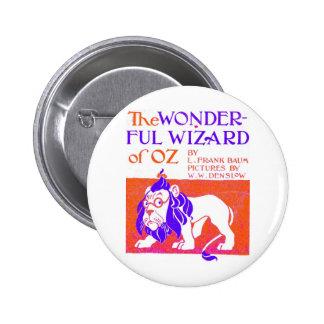 Wizard of Oz Original Pinback Button
