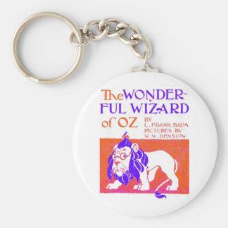 Wizard of Oz Original Basic Round Button Key Ring