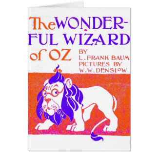 Wizard of Oz Original Card