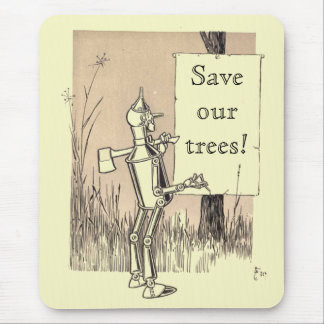 Wizard of Oz Save Our Trees Mouse Mat