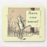 Wizard of Oz Save Our Trees Mousepad