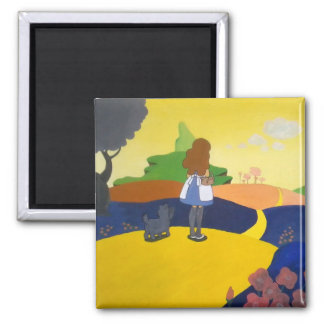 Wizard of Oz Square Magnet