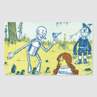 Wizard of Oz Rectangle Sticker