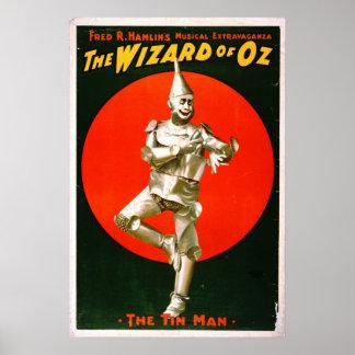 Wizard of Oz - Tin Man 1903 Poster