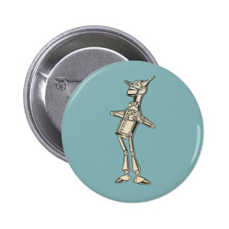 Wizard of Oz Tin Man 6 Cm Round Badge