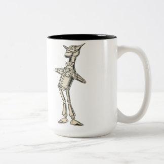 Wizard of Oz Tin Man Two-Tone Coffee Mug