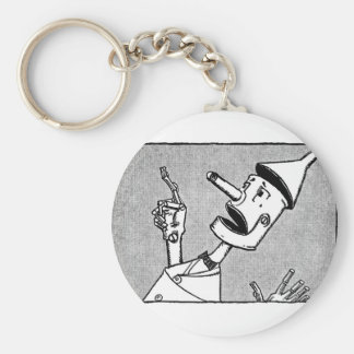 Wizard of Oz Tin Woodman Key Ring