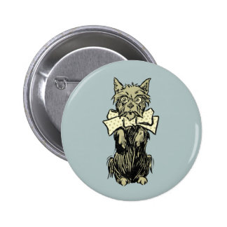 Wizard of Oz Toto 6 Cm Round Badge
