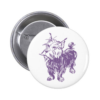 Wizard of Oz Toto 6 Cm Round Badge