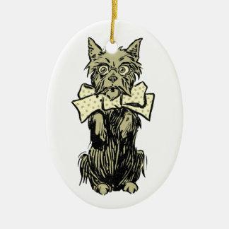 Wizard of Oz Toto Ceramic Oval Decoration