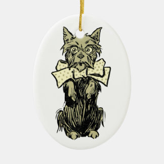 Wizard of Oz Toto Christmas Ornament