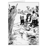 Wizard of Oz Toto, Dorothy and Scarecrow Greeting Cards