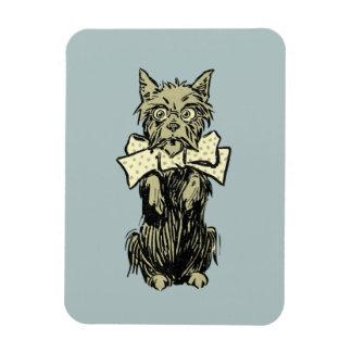 Wizard of Oz Toto Rectangular Photo Magnet