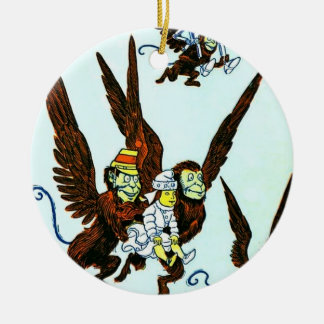 Wizard of Oz Winged flying monkeys Ornament