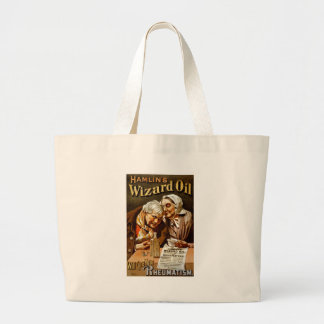 Wizard Oil Vintage Advertisement Tote Bags