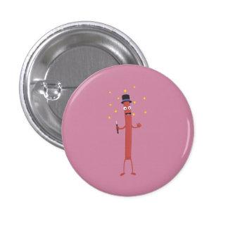 Wizard Sausage Z3hqx 3 Cm Round Badge