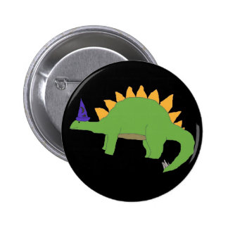Wizard Stegosaurus pin