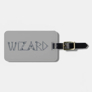 Wizard Weapon Collage Luggage Tag