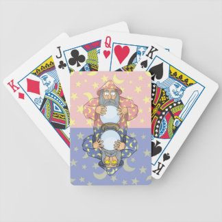 Wizard with Ball Bicycle Playing Cards
