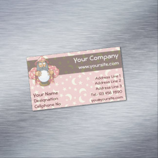 Wizard with Ball Magnetic Business Cards
