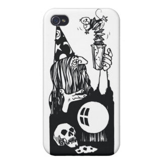 Wizard With Magic Cup Covers For iPhone 4