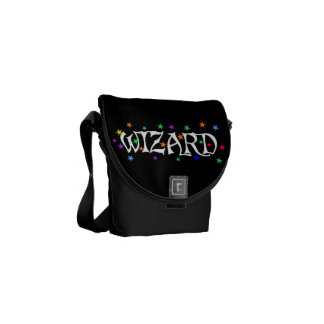 Wizards and Stars Courier Bag