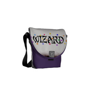Wizards and Stars Messenger Bag