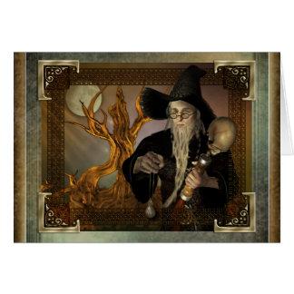 Wizards Magic Fantasy Illustration Cards