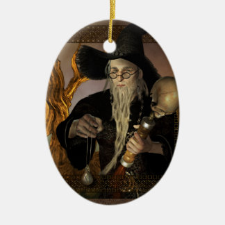 Wizards Magic Fantasy Illustration Ornament