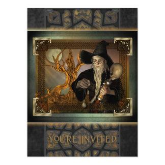 Wizards Magic Oversize Invitation
