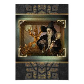 Wizards Magic RSVP Cards 9 Cm X 13 Cm Invitation Card