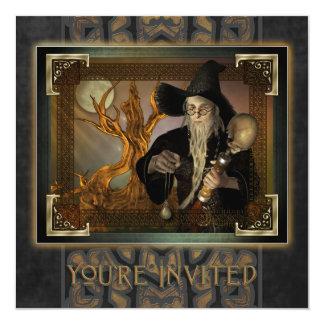 Wizards Magic Square Invitations