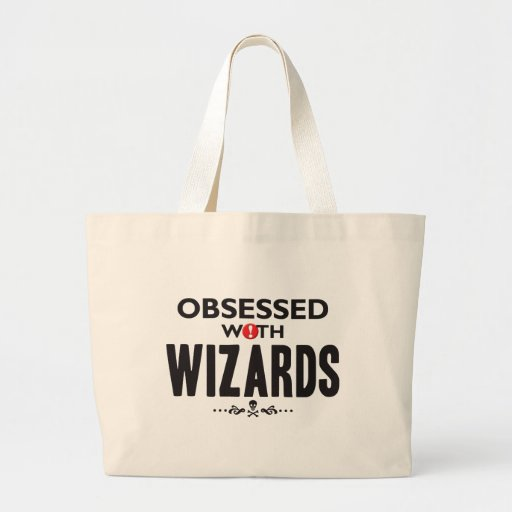 Wizards Obsessed Tote Bags