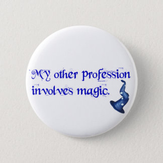 Wizards Profession 6 Cm Round Badge