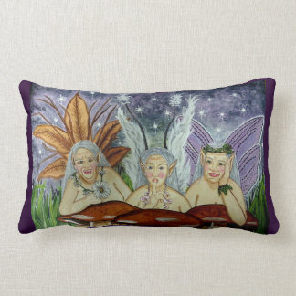 Wize Wimmin Fae Pillow - Old Fairy Magic!