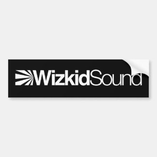 Wizkid Sound Bumper Sticker