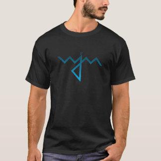 WJM black gradient logo tee (men's)
