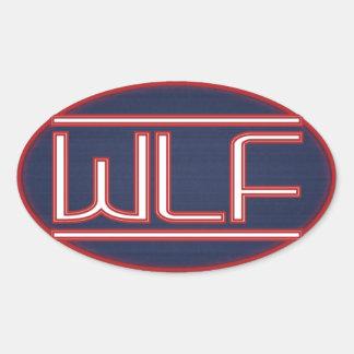 WLF Badge Oval Sticker