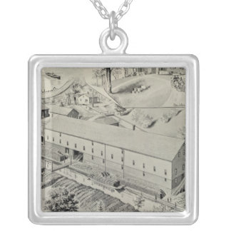 Wm G Johnson Co Silver Plated Necklace