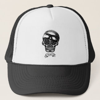W'nR'n Scroll Sugar Skull Mother Trucker Cap