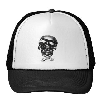 W'nR'n Scroll Sugar Skull Mother Trucker Cap