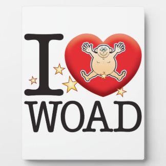Woad Love Man Plaque